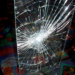 Smashed-Laminated-Glass